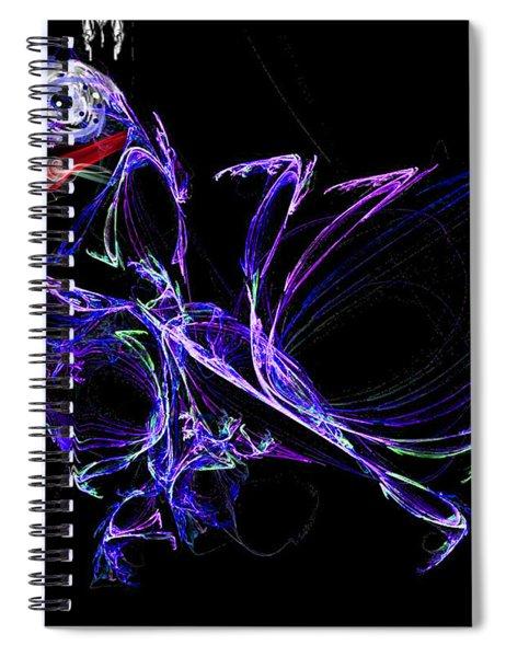 Dragon Dance Spiral Notebook
