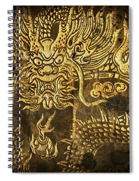 Dragon Pattern Spiral Notebook