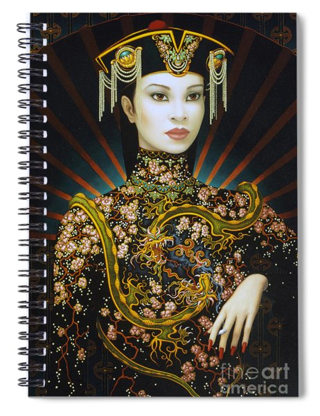 Dragon Smoke Spiral Notebook