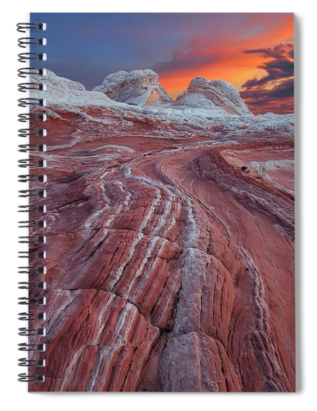 Dragons Tail Sunrise Spiral Notebook