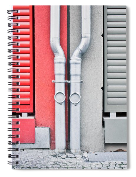 Drain Pipes Spiral Notebook