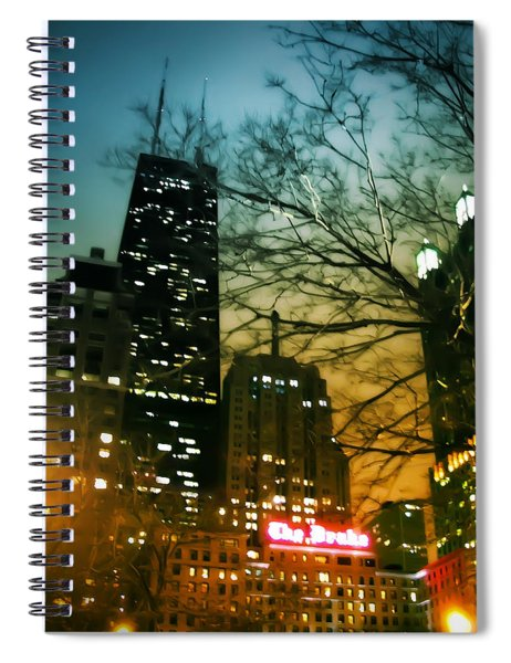 Drake Palmolive Hancock Spiral Notebook