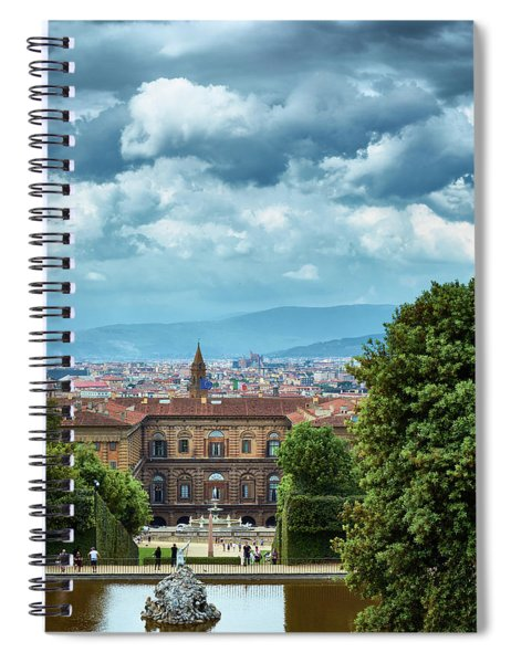 Drama In The Palace Of Firenze Spiral Notebook