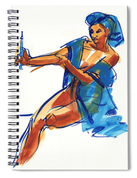 Drawing Model Spiral Notebook