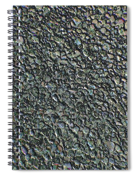 Drawn Pebbles Spiral Notebook