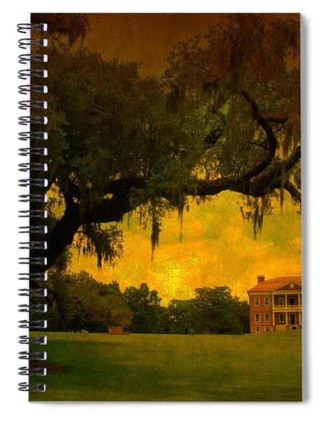 Drayton Hall Plantation In Charleston Spiral Notebook