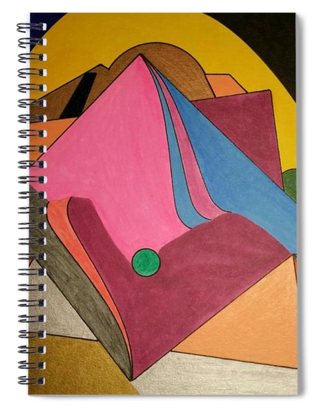 Dream 327 Spiral Notebook