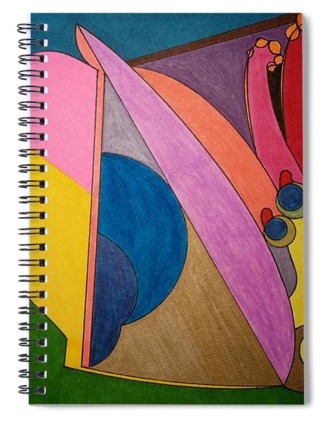 Dream 328 Spiral Notebook
