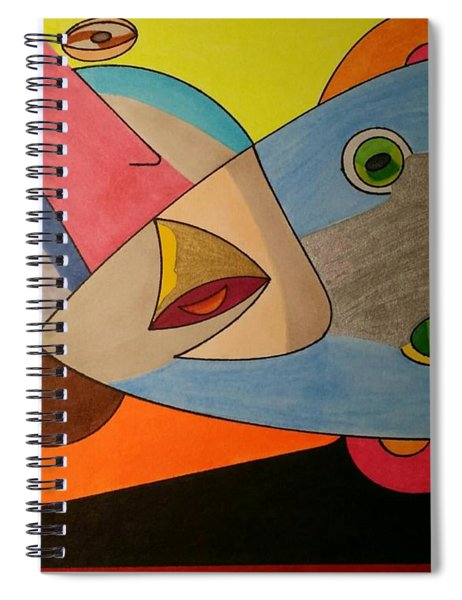 Dream 334 Spiral Notebook