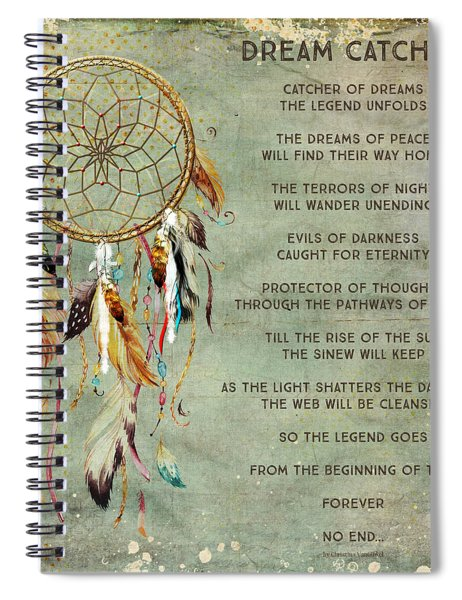 Dream Catcher Spiral Notebook