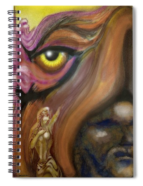 Dream Image 3 Spiral Notebook