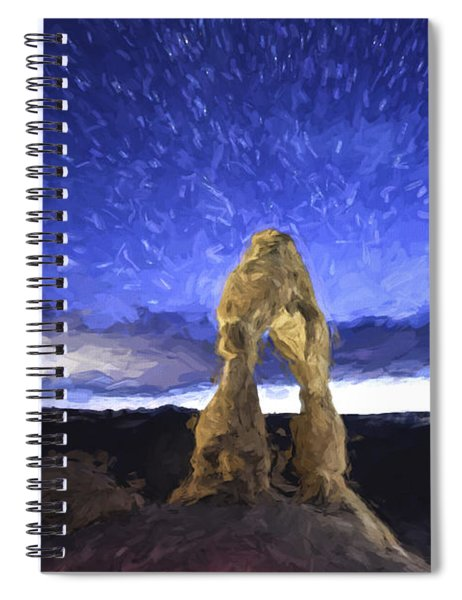 Dream Of Arches II Spiral Notebook