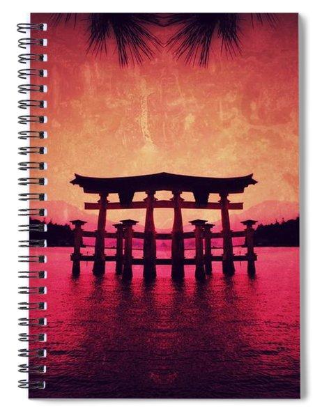 Dream Of Japan Spiral Notebook