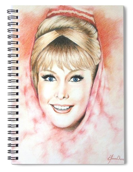 Dream Of Jeannie Spiral Notebook