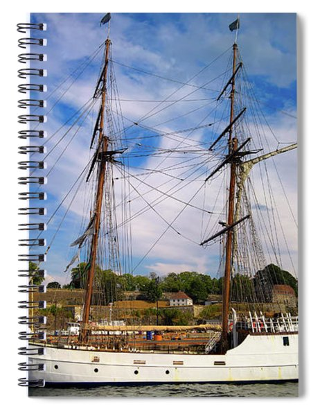 Dream On The Fjord Spiral Notebook