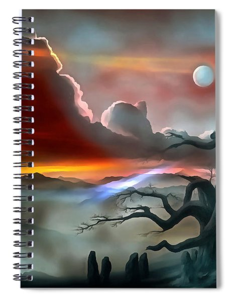 Dream Visions Spiral Notebook
