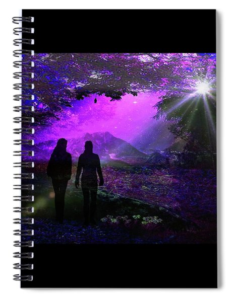 Dream Walkers Spiral Notebook
