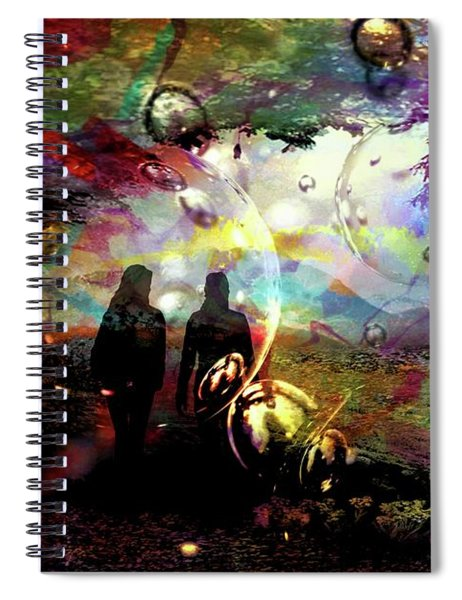Dream Walking Spiral Notebook