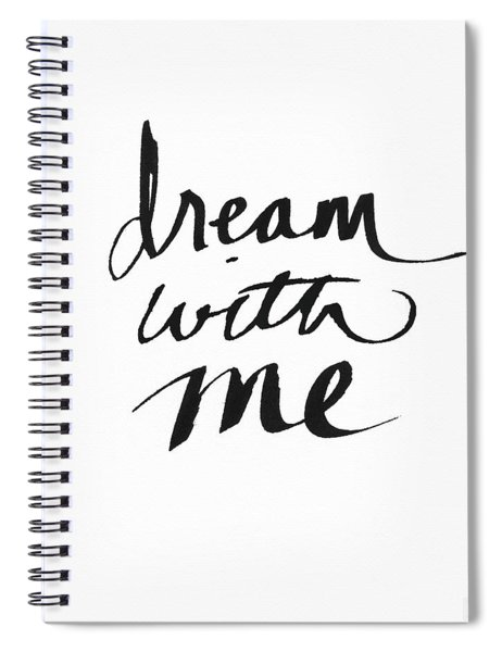 Dream With Me- Art By Linda Woods Spiral Notebook