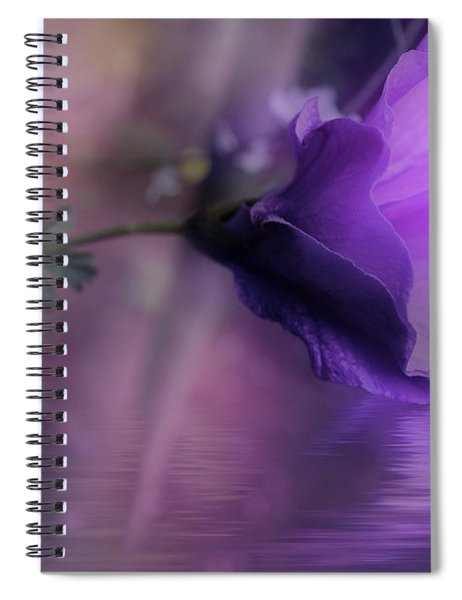 Dreaming In Purple Spiral Notebook