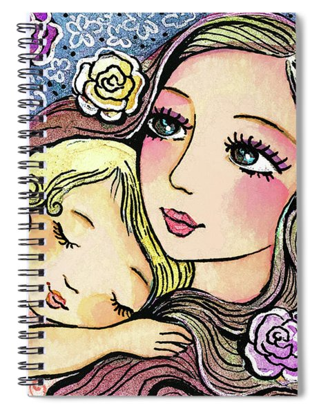 Dreaming In Roses Spiral Notebook