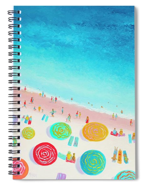Dreaming Of Sun, Sand And Sea Spiral Notebook