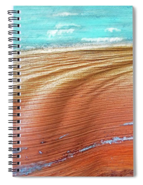 Dreaming Of The Beach Spiral Notebook