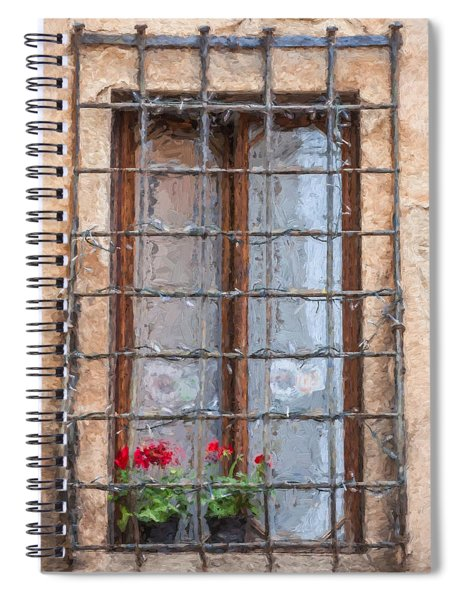 Dreaming Of Tuscany Spiral Notebook