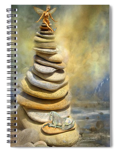 Dreaming Stones Spiral Notebook