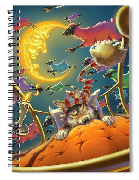 Dreamland Iv Spiral Notebook