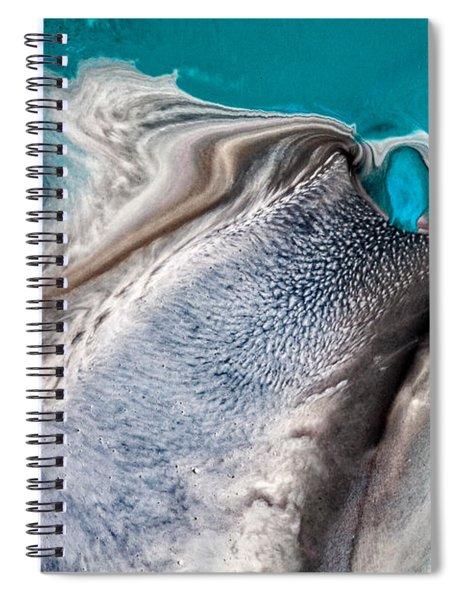 Dreams Like Ocean Spiral Notebook