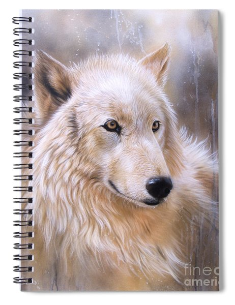 Dreamscape - Wolf II Spiral Notebook