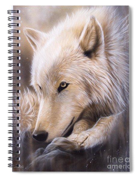 Dreamscape - Wolf Spiral Notebook