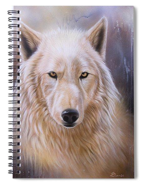 Dreamscape Wolf IIi Spiral Notebook