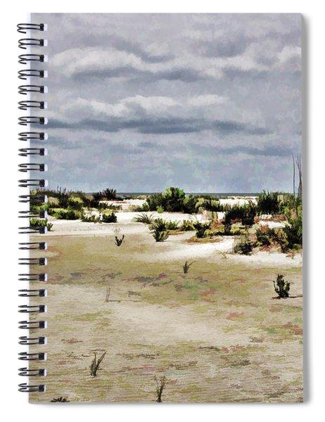 Dreamy Sand Dunes Spiral Notebook