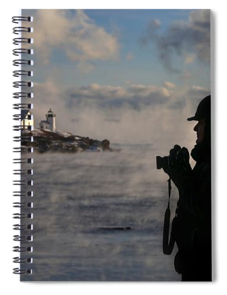 Dressed For Sea Smoke Spiral Notebook