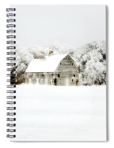 Dressed In White Spiral Notebook