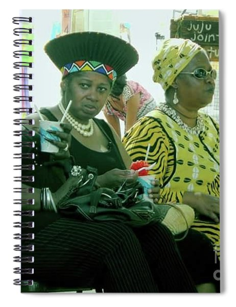Dressed To The Nines Spiral Notebook