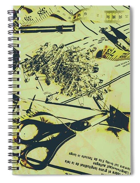Dressmaker Desk Spiral Notebook