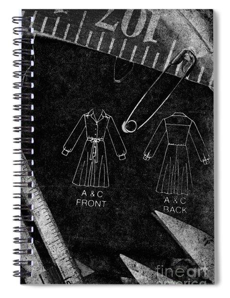 Dressmaking Handiwork Spiral Notebook
