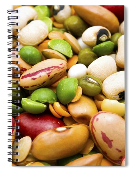 Dried Legumes And Cereals Spiral Notebook