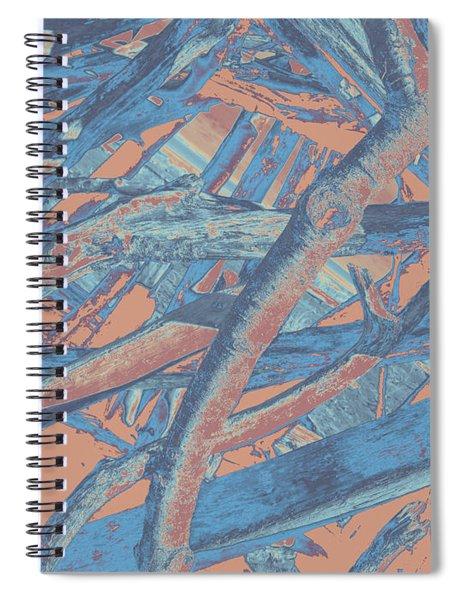 Driftwood #4 Spiral Notebook