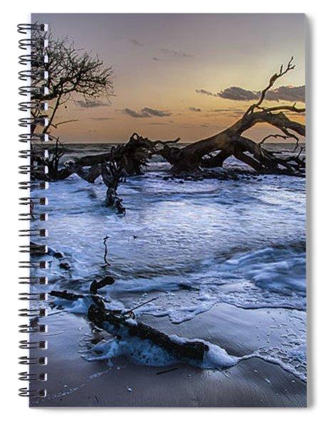Driftwood Beach 3 Spiral Notebook