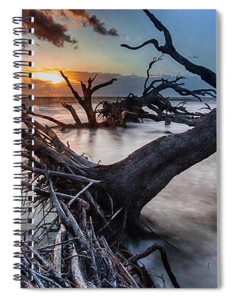 Driftwood Beach 6 Spiral Notebook