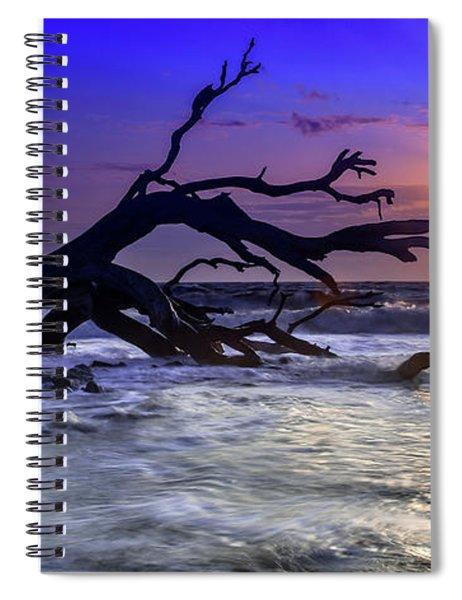 Driftwood Beach 9 Spiral Notebook
