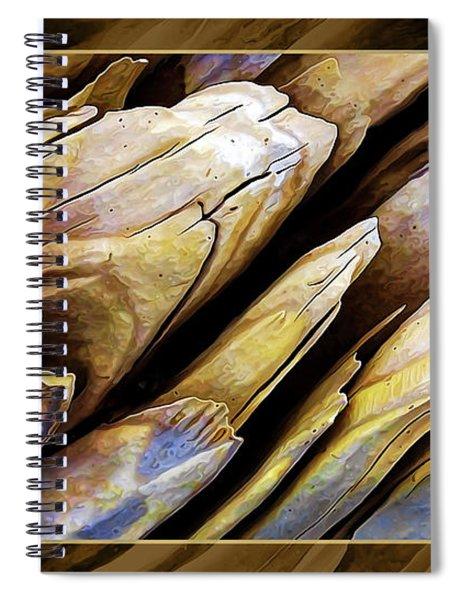 Driftwood Edges Spiral Notebook