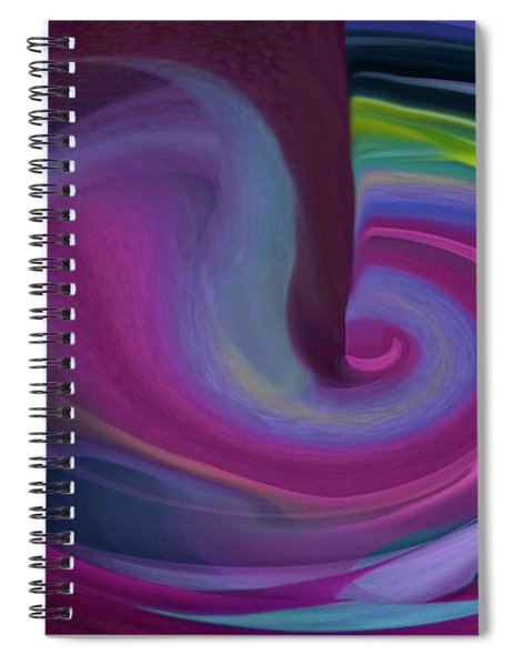 Drinking From The Cosmos Study No 2 Spiral Notebook