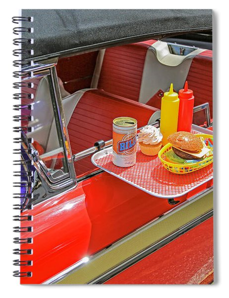 Drive In Lunch Spiral Notebook