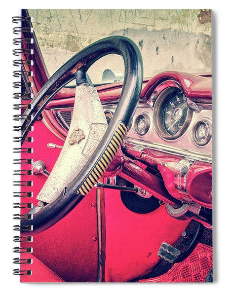 Driving In Havana Spiral Notebook