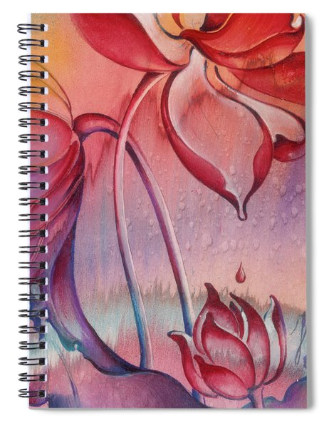 Drop Of Love Spiral Notebook